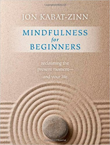 Mindfulness For Beginners Book Cover