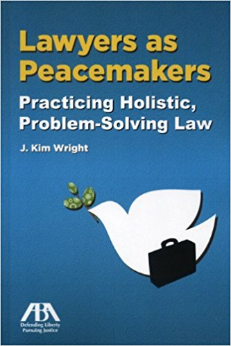 Lawyers As Peacemakers Book Cover